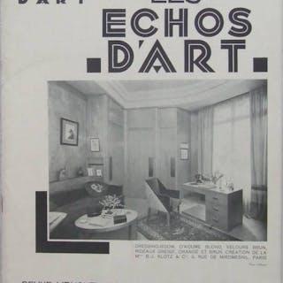 LES ECHOS D'ART n°56 1930 SEMAINE A PARIS