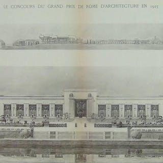 LE CONCOURS DU GRAND PRIX DE ROME EN 1925