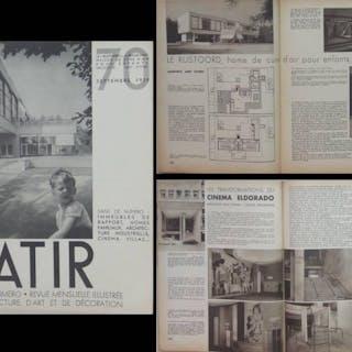 BATIR N°70 1938 BRASSERIE DES ALLIES MARCHIENNE