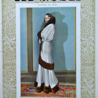 REVUE LES MODES n°319 - 1930 - CHANEL, MIRANDE, DRECOLL, JENNY   Mode