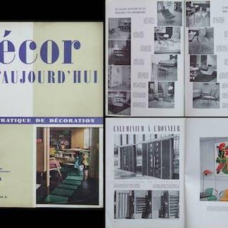 DECOR D'AUJOURD'HUI n°88 1954 Jean Prouvé