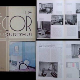 DECOR D'AUJOURD'HUI n°6 1934 RENE GABRIEL