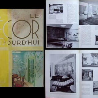 DECOR D'AUJOURD'HUI n°12 1935 EXPOSITION BRUXELLES