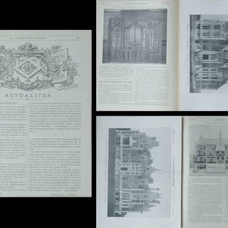 LA CONSTRUCTION MODERNE -n°34,35,36 -1903 - CHAOURCE