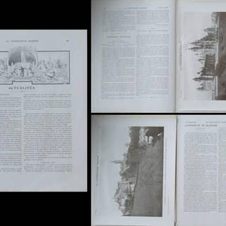 LA CONSTRUCTION MODERNE - n°11 - 1907- UNIVERSITE GLASGOW