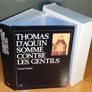 SOMME CONTRE LES GENTILS THOMAS D'AQUIN (traduction du latin par R