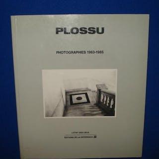 Photographies 1963-1985 PLOSSU Livres de Photos