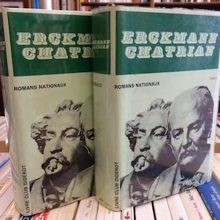 Romans nationaux (en 2 volumes) ERCKMANN CHATRIAN Lorraine Littérature / Poésie