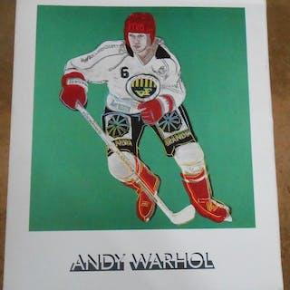 Andy Warhol David Bourdon, Pierre Restany et Jean-Pierre Keller Sport