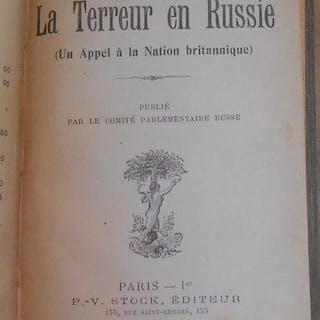 La Terreur en Russie (Un Appel à la Nation britannique) Pierre Kropotkine Russie