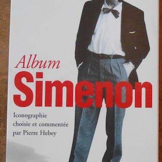Simenon Album de la Pléiade Pierre Hebey Littérature XXème siècle