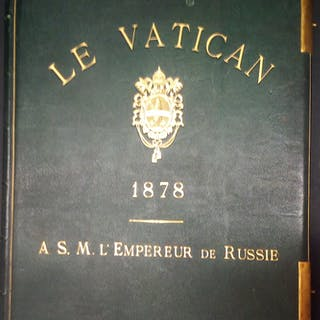 Le Vatican A S.M. L'Empereur de Russie . J. David Phot