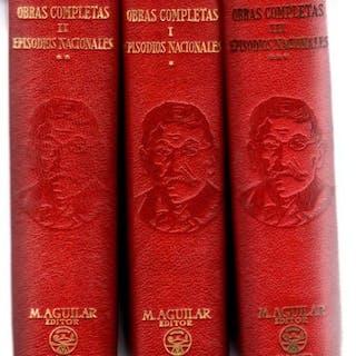 Obras completas. Episodios nacionales. Tomos I, II y III . Pérez Galdós, B.