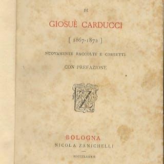 Giambi ed epodi di Giosuè Carducci [1867 - 1872]