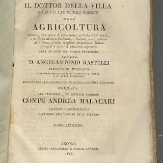 Il dottor della villa su tutti i principali oggetti dell'agricoltura opera
