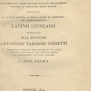 Dizionario botanico italiano che comprende i nomi volgari italiani