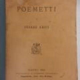 Poemetti Cesare Arici POESIA