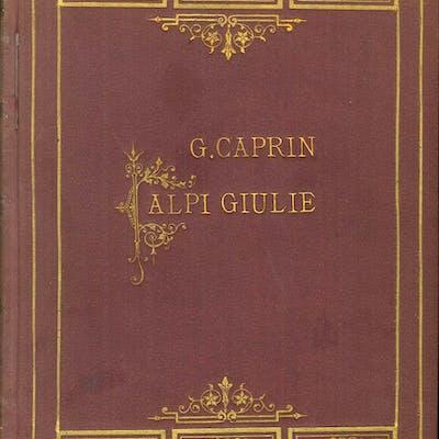 Alpi Giulie Caprin Giuseppe