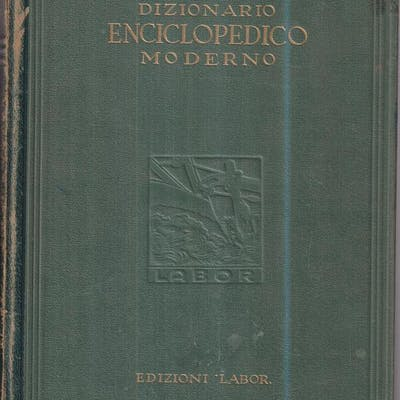 Dizionario enciclopedico moderno - 4 voll aa.vv. Literature & Fiction