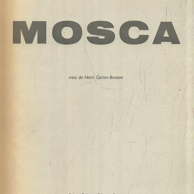 Mosca Cartier-Bresson, Henri Literature & Fiction