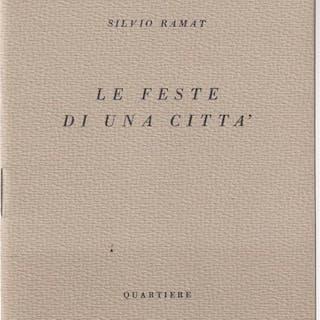 Le feste di una citta' Ramat, Silvio Literature & Fiction