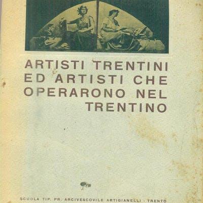 Artisti trentini ed artisti che operarono nel Trentino Weber