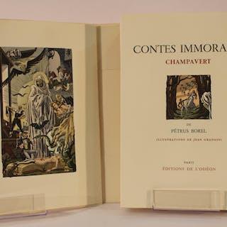 Contes immoraux Champavert BOREL (Pétrus)