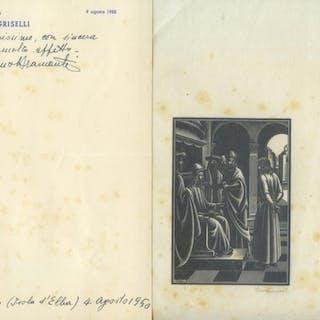BRAMANTI Bruno (Firenze 1897 - ivi 1957)   Arte