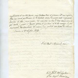 PARAVIA Alessandro (Zara 1797 - Torino 1857)   Giovanni Ladislao Pyrker,Storia