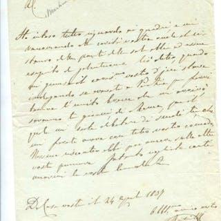 MUTINELLI Fabio (Venezia 1797 - Padova 1876)   Storia,Venezia