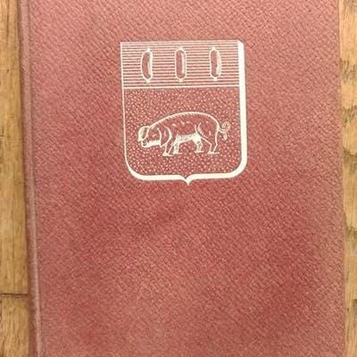 Annuaire Officiel de la CHARCUTERIE 1955   Métiers...