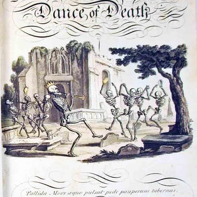 The English Dance of Death