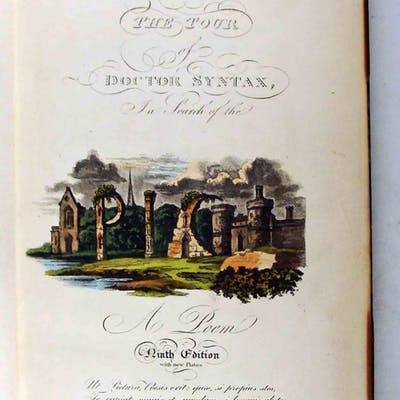 The First, Second and Third Tour of Dr. Syntax Combe, William