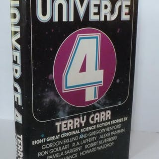 Universe 4 Terry Carr [Editor] Fantasy,Science Fiction/Futuristic,Short Stories