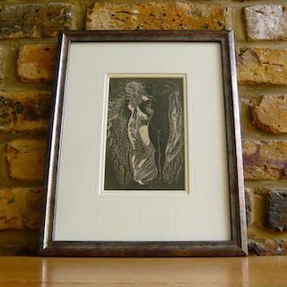 Max Ernst (1891 - 1976): Mr Knife And Miss Fork (Original...