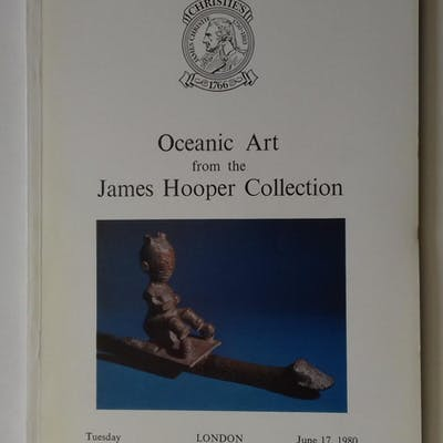 OCEANIC ART from the JAMES HOOPER COLLECTION Auction catalogue: Oceania