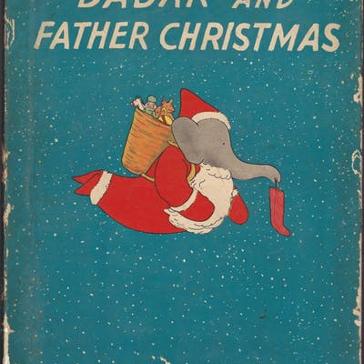 Babar and Father Christmas De Brunhoff, Jean Christmas,De Brunhoff