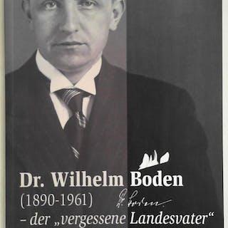 Dr. Wilhelm Boden (1890-1961)