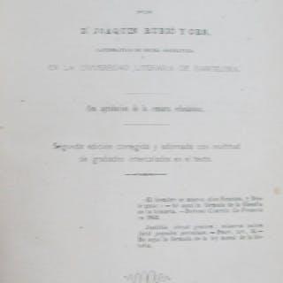 Epítome-Programa de Historia Universal Rubió y Ors, Joaquim Libros