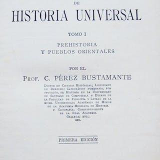 Manual de historia universal Pérez Bustamante, C. Libros