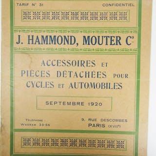 J. Hammond Mouter Co