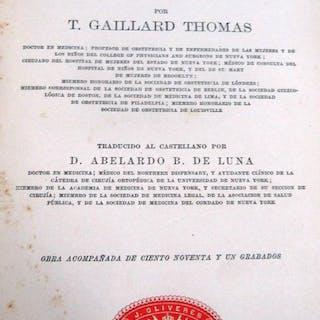 Tratado práctico de las enfermedades de las mujeres Gaillard Thomas, T. Libros