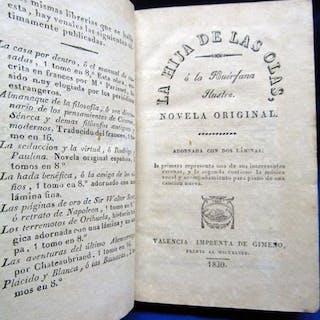La Hija de las olas o La huerfana ilustre. Brotons, Francisco (n. 1786) Libros
