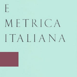 Stilistica e metrica italiana XIX (2019) Various