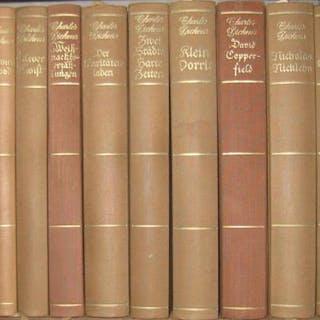 Werke. Konvolut mit 14 Bänden