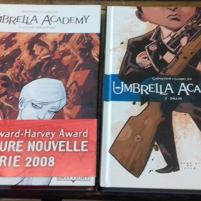 Umbrella Academy (série complète des 2 volumes) Way Gerard, Bâ Gabriel