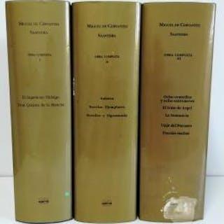 OBRA COMPLETA (I-II-III) Cervantes Saavedra, Miguel de