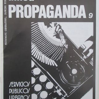 Allied Propaganda. Issue 9 (Turpin) Mick and Ray, authors Fanzines,Punk