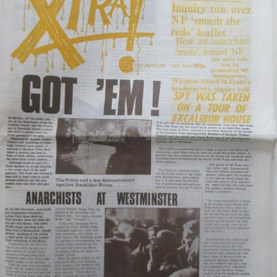Xtra! The January 1980 Issue Various authors Anarchism,Radical Studies