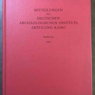 Mitteilungen des Deutschen Archäologischen Instituts Abteilung Kairo (MDAIK)